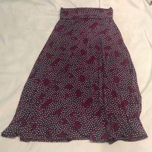 LuLaRoe Maxi Heart Skirt
